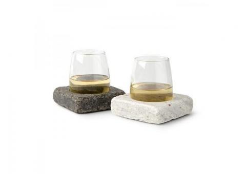 Sous-verres à vin en granit