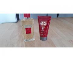 Eau de Toilette 100ml  et gel douche habit rouge de Guerlain