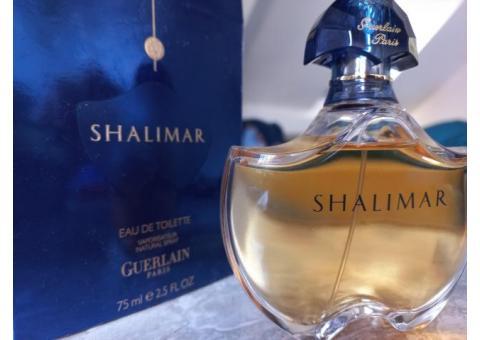 Eau de toilette Shalimar Guerlain 75ml neuf